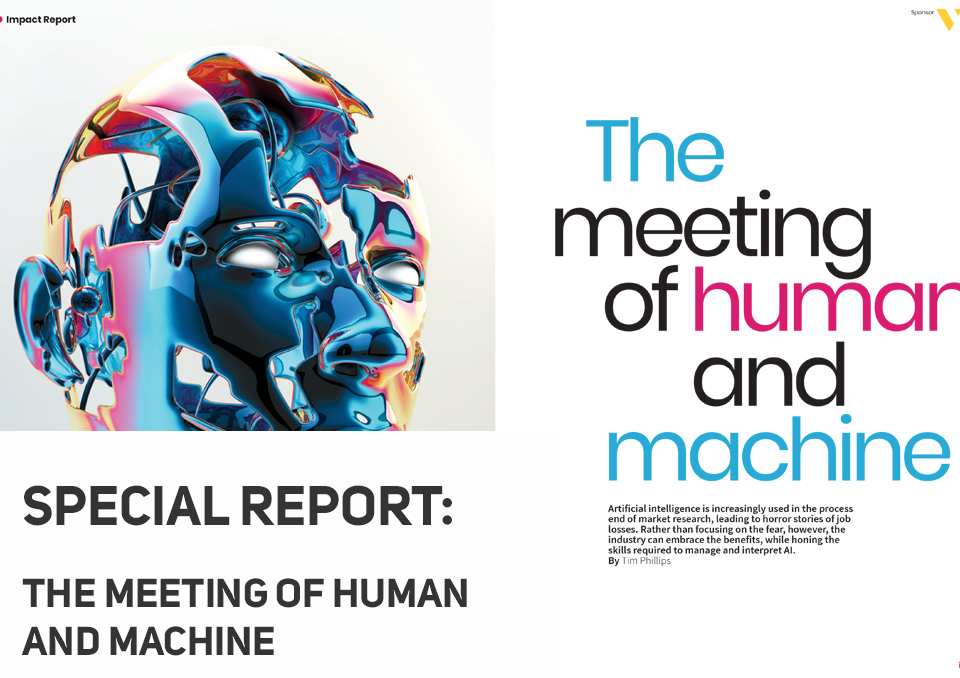 The Meeting of Human and Machine