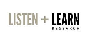 Listen + Learn Research Company Logo